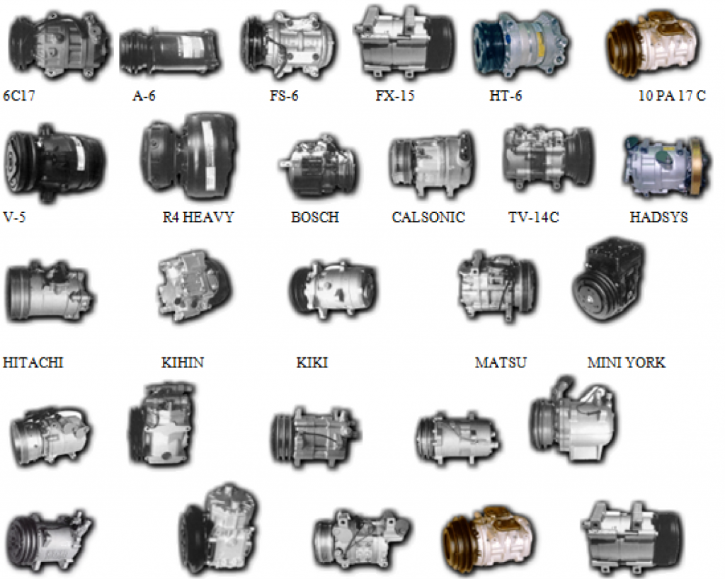 AUTOMOTIVE AC COMPRESSOR CORES