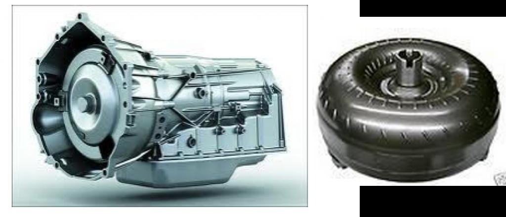 Scrap Transmission and Torque Converter